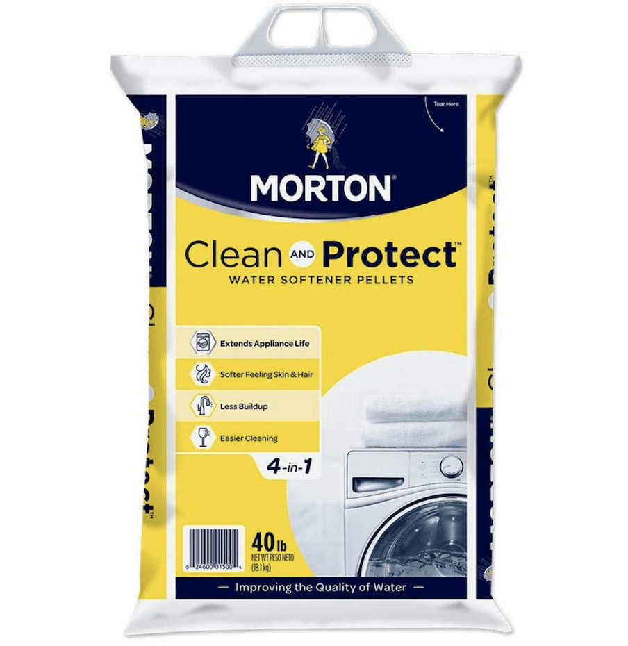 Morton Clean and Protect Water Softening Pellets