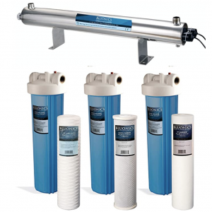 Carbon Well Water Filter Purifier Disinfection System
